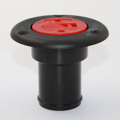 Yacht Caravan Water Deck Filler and Red Keyless Cap for 38mm 1 1/2
