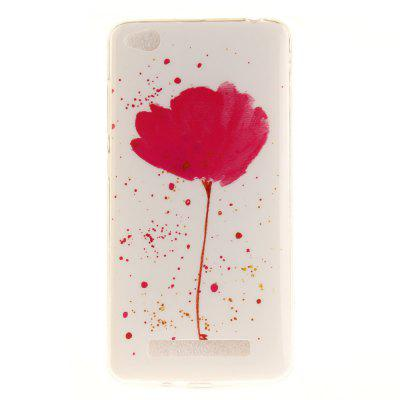 Song For Orchid Soft Clear Caixa de telefone IMD TPU Tampa de capa móvel Smart Shell para Xiaomi Redmi 4A
