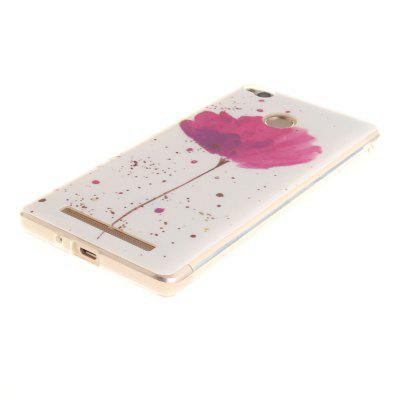 все цены на Song For Orchid Soft Clear IMD TPU Phone Casing Mobile Smartphone Cover Shell Case for Xiaomi Redmi 3X 3S 3Pro онлайн