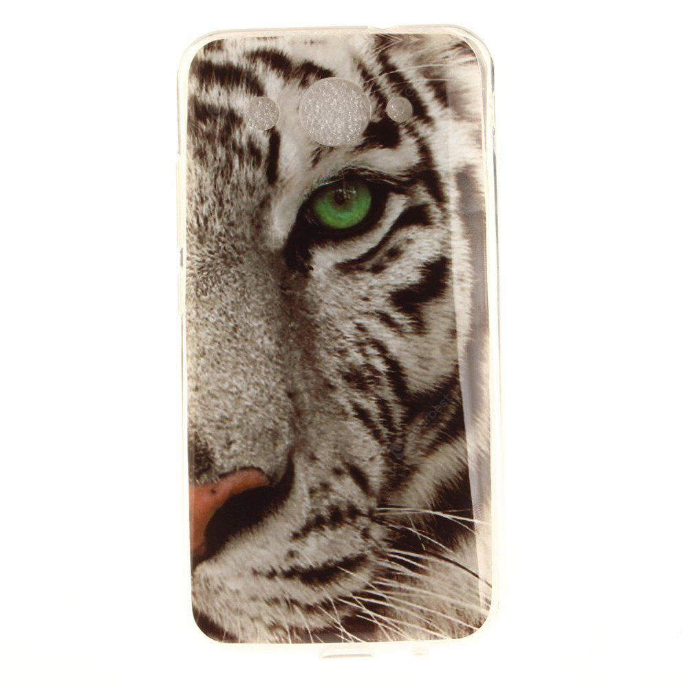 Die Tiger Muster Soft Clear IMD TPU Telefon Gehäuse Handy Smartphone Cover Shell Fall für Huawei Y3 2017
