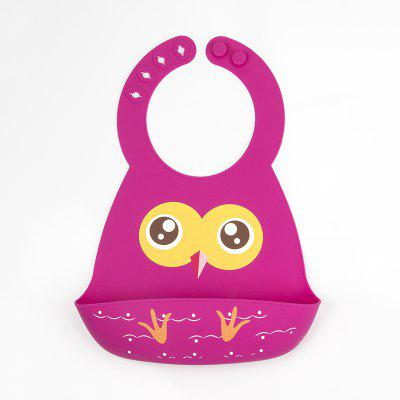 Baby Girl'S Bib 1 Piece Owl Pattern Cute Baby Producto
