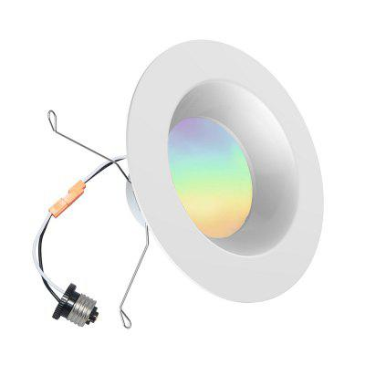 iLintek Bluetooth Smart LED Downlight Mesh Multicolor 6 Inch Recessed Lighting Color Changing RGB LED Light