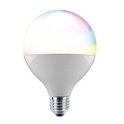 ILintek Bluetooth Smart Light Bulb, 13W(70W Equivalent) ,G95 White Dimmable and Multicolor Changing LED Lighting
