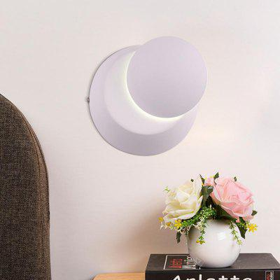 Modern Style 360 Degree Can Adjust The Wall Lamp White Aluminum  for Living Dining Room Bedrooms