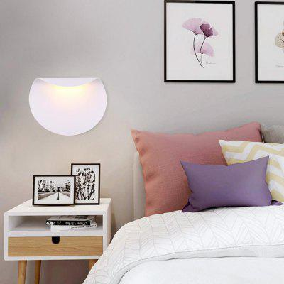Modern Style LED Wall Lamp White Metal Indoor for Bedside Lamp Pathway Dining  Bedroom Living  Room