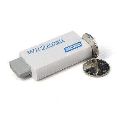 XY - ZHQ6 WII TO HDMI Supports HD 1080P Adapter