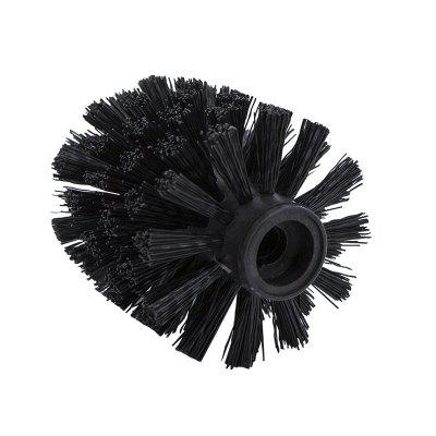 Plastic Bathroom Replacement Toilet Brush head WC Cleaning Accessory Bathroom Cleaning Black