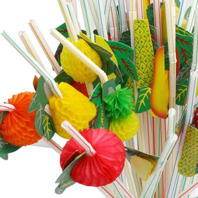 50PCS Pipette Jetable Décoration de Fête de Bar