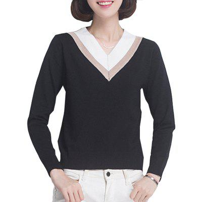 Fashion All Match Slim Pullover Sweater