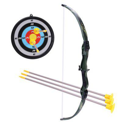 Camouflage Toy Bow and Arrow Play Camping Children Archery Set for Kids Gift