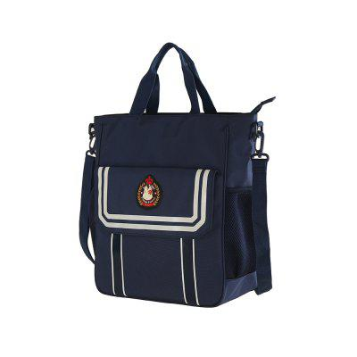 Children Foursh To Ninth Grade Hand BagBaby Carriers &amp; Backpacks<br>Children Foursh To Ninth Grade Hand Bag<br><br>Closure Type: Zipper<br>Gender: Unisex<br>Lining Material: Polyester<br>Main Material: Nylon<br>Package Content: 1 x Hand Bag<br>Package size (L x W x H): 30.00 x 5.00 x 34.00 cm / 11.81 x 1.97 x 13.39 inches<br>Package weight: 0.5200 kg<br>Product size (L x W x H): 28.00 x 13.00 x 32.00 cm / 11.02 x 5.12 x 12.6 inches<br>Product weight: 0.5000 kg<br>Shape/Pattern: Others