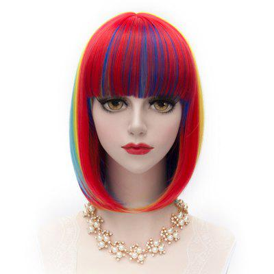 Man Mei SW-1227 Cosplay COS Wigs Airy Curl Hair Colorful