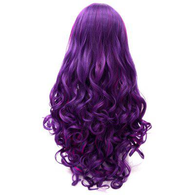 Cosplay COS Wig Sideswept Bangs Long Curly HairSynthetic Wigs<br>Cosplay COS Wig Sideswept Bangs Long Curly Hair<br>