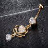 Anello Petal Zircon Navel Fashion P0235 - ORO