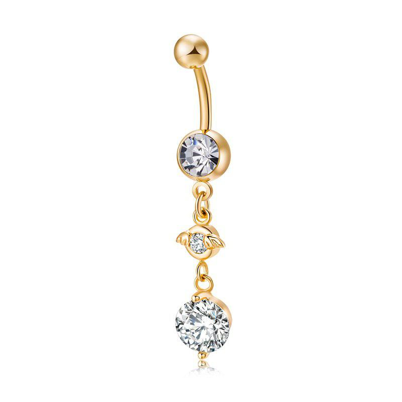 Cute Hat Zircon Navel Ring P0236