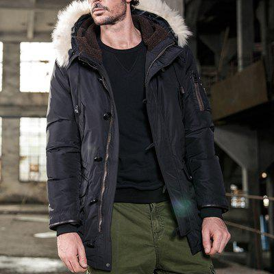 MenS Thickening Down Jacket for Autumn and WinterPlus Size Outerwear<br>MenS Thickening Down Jacket for Autumn and Winter<br><br>Clothes Type: Others<br>Collar: Hooded<br>Crafts: Sewing<br>Material: Down, Wool, Polyester<br>Occasion: Work, Holiday, Party, Daily Use<br>Package Contents: 1xCoat<br>Season: Winter<br>Shirt Length: Regular<br>Sleeve Length: Long Sleeves<br>Style: Casual<br>Weight: 1.5000kg
