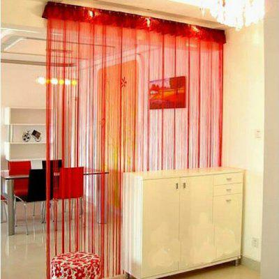 Straight Line Curtain Room European Curtain