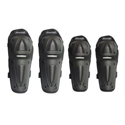 Riding Tribe Motorcycle Riding Knee Pads Motocross Racing Protective Gears Hands and Leg Guards scoyco motorcycle riding knee protector bicycle cycling bike racing tactal skate protective gear extreme sports knee pads