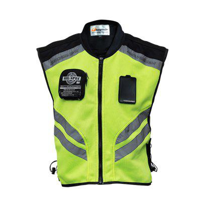 Riding Tribe Motorcycle Ride Magic Sticker Safety Warning Fluorescence Night Clothes Vest