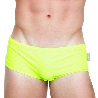 Taddlee New Sexy Men's Swimwear Swimsuits Swim Boxer Briefs Solid Pure Color Surf Board Trunks Swimming Bikini Sports