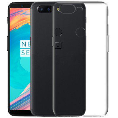 TPU Ultra-thin Soft TPU Back Case for OnePlus 5T