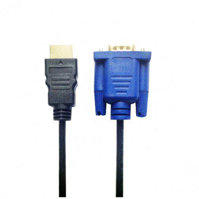 Yeshold HDMI to VGA  Adapter Connector Cable for   Gold Male 1.8M