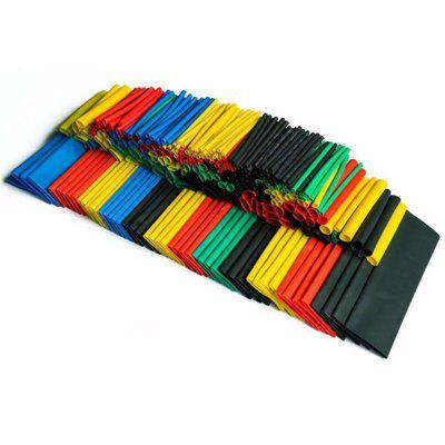 Buy 328PCS 2:1 Polyolefin Shrinking Assorted Heat Shrink Tube Wrap Wire Cable Insulated Sleeving Tubing Set COLORMIX for $9.40 in GearBest store