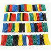 HakkaDeal 410 PCS Heat Shrink Tubing Shrinkage 2:1 Tube Wrap Sleeving Wire Cable Kits 10 Sizes 5Colors With Plastic Bags - COLORMIX