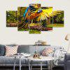 Ali stampate Derevya Popugay Polet Parrot Wings Canvas Print Room Decor - COLORI MISTI