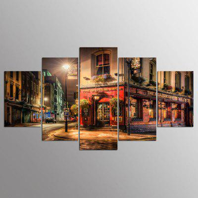 YSDAFEN HD Printed Brewer Pub London Group Painting Room Decor Print Poster Picture