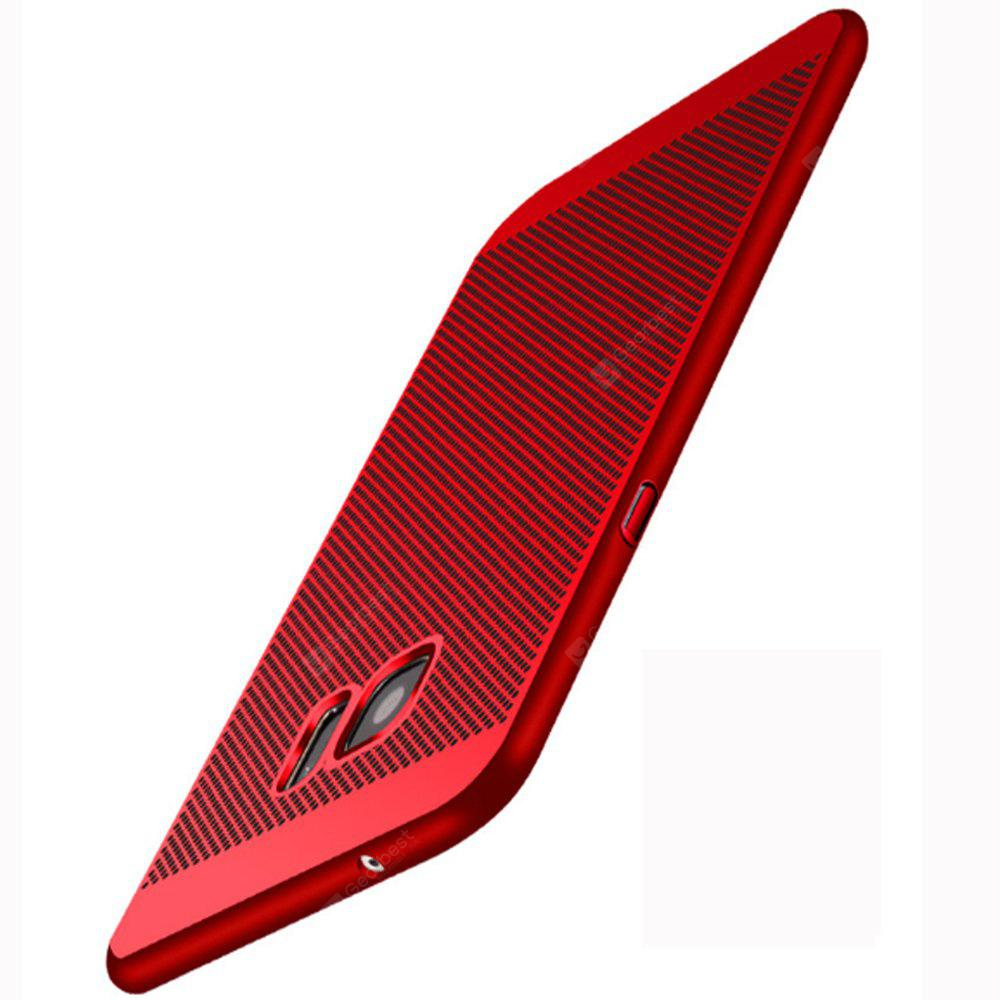 Case for Samsung Galaxy S7 Case Cover Ultra-thin Back Cover Case Solid Color Hard PC