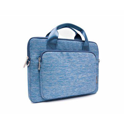WIWU Gent Snow Oxford Carrying Bag with Shoulder Strap for Macbook Laptop 13.3 inch
