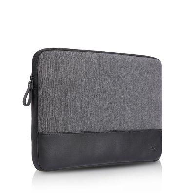 WIWU London Premium Sleeve Bag with Genuine Leather Case for Macbook Laptop 12.0 inch