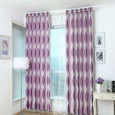 Shading jacquard curtain  The bedroom curtains Velvet curtain
