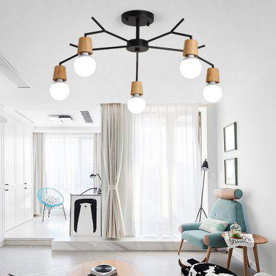 Ever flower 5 lights retro industrial pendant lamps ceiling light ever flower 5 lights retro industrial pendant lamps ceiling light for living room bedroom clothing mozeypictures Images