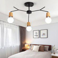Ever-Flower 3 Lights Retro Industrial Pendant Lamps Ceiling Light for Living Room Bedroom Clothing Store