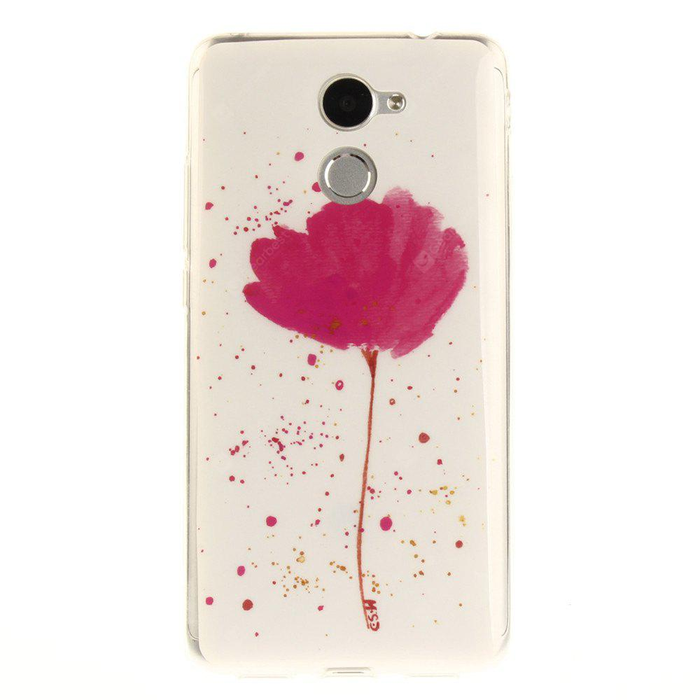 Song For Orchid Soft Clear IMD TPU Phone Casing Capa de celular móvel Capa Shell para Huawei Y7 Prime Enjoy 7 Plus