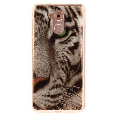 The Tiger Pattern Soft Clear IMD TPU Phone Casing Mobile Smartphone Cover Shell Case para Huawei Enjoy 6S Honor 6C