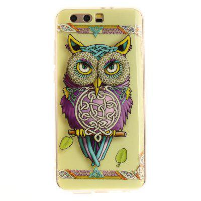Owl Pattern Soft Clear IMD Custodia per cellulare TPU Custodia per smartphone Custodia per Huawei Honor 9 Glory 9