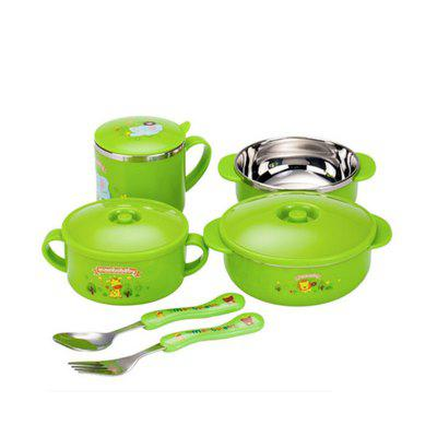 stainless steel tableware six sets gift boxed