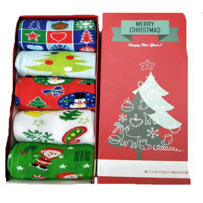 Adult Children's Christmas Theme Socks