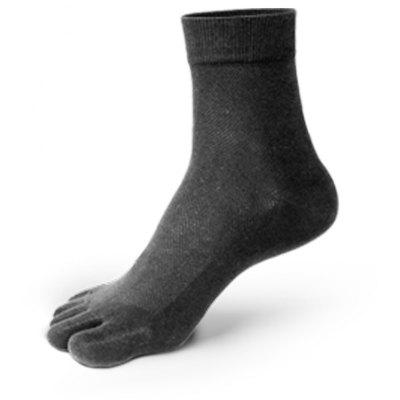 Buy GRAY New Arrivals Men Five Toes Tube Sock Anti Bacterial and Anti-odor Socks for $10.24 in GearBest store