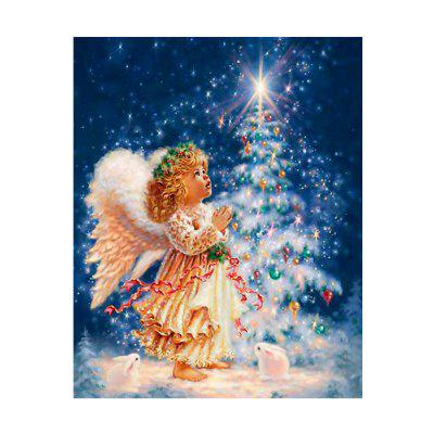 Naiyue 7261 Little Angel Print Draw Diamant-Zeichnung