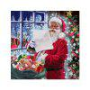 Naiyue 7266 Merry Santa impression tirage au dessin de diamant - MULTICOLORE