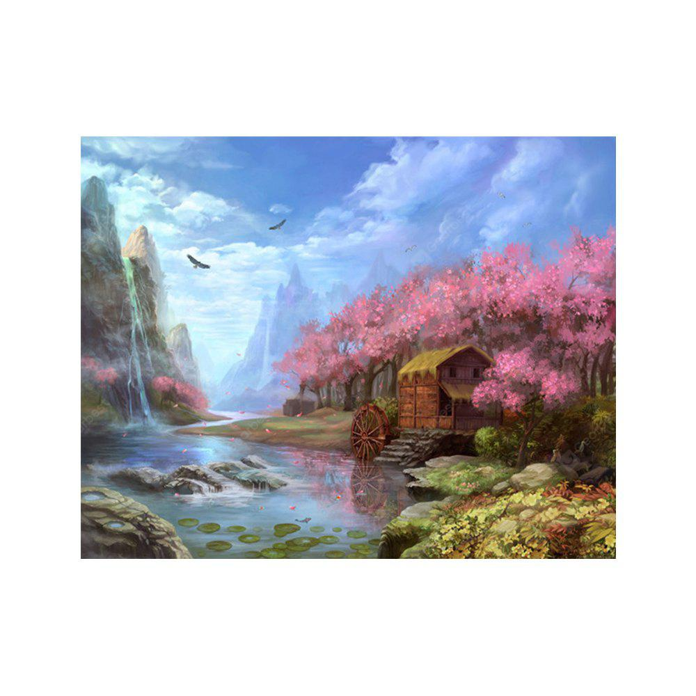 Naiyue 7033 Scenic Beauty Print Draw Diamant Zeichnung