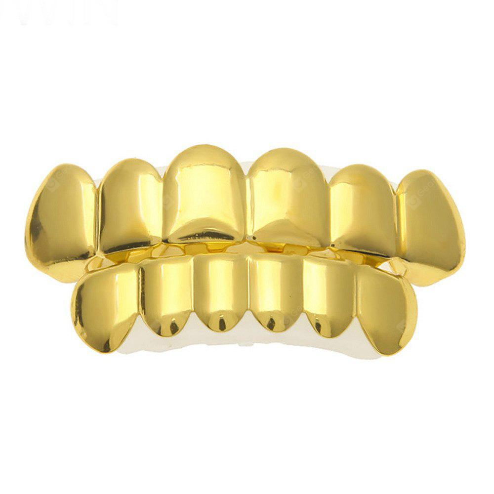 Hip Hop Gold Classic placcato oro 18k Grillz