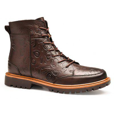 Hommes Mode Loisirs Chaud Confort Grand Code Affaires Occasionnels Chaussures 39-47