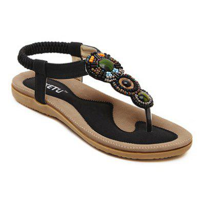 Ladies Rubber Sole Refers To Beach Sandals