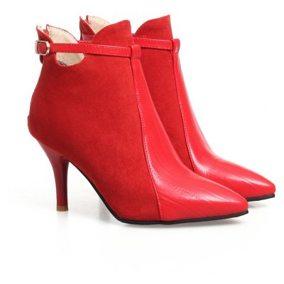 Miss Shoe: Fashion Ascpf07-15 Thin Heels and Fashion Shoe: Ankle Boots 74987a