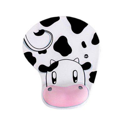 Silica Gel Mouse Pad Cows Wristbands Hand Holds The Mouse Pad